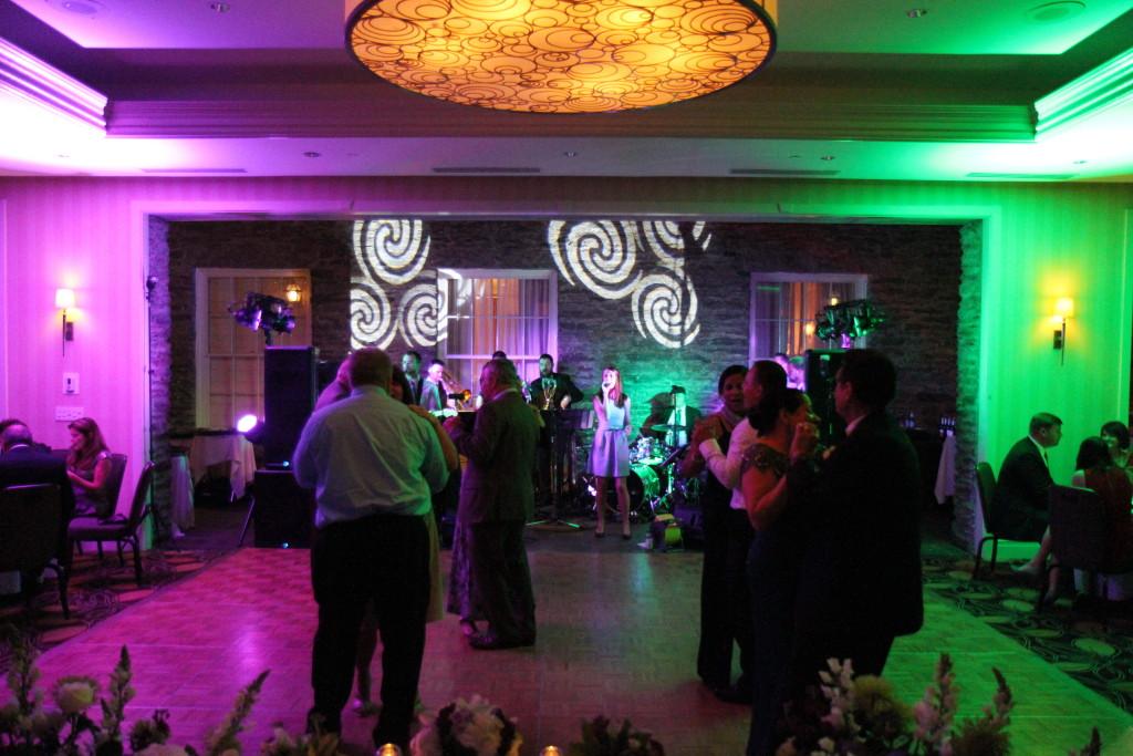 Band at Wedding Reception